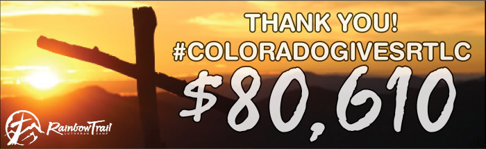 THANK YOU EVERYONE FOR A GREAT COLORADO GIVES DAY!