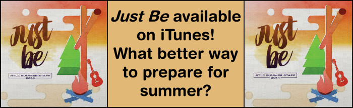 JUST BE ON iTUNES