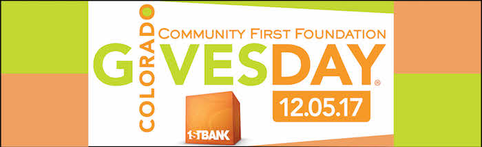 Colorado Gives Day on December 5, 2017!